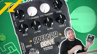 TC ELECTRONIC Spectra Drive Bass Preamp Review | GEAR GODS