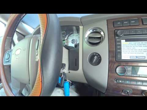 Ford Expedition 4x4 System: Control Trac System On, Traction Control Off, Quick Hands On Show How!