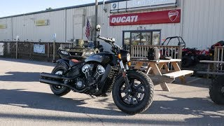 Buying a 2018 Indian Scout Bobber!