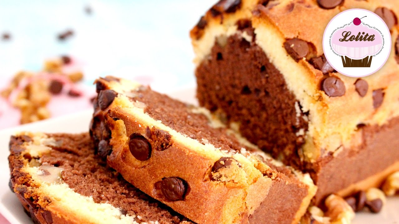 plum cake chocolate receta