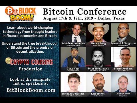 The BitBlockBoom Bitcoin Conference Is Coming To Dallas, Texas!