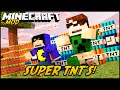 Minecraft Mod: SUPER TNT'S! (Dinamites e TNT's Especiais // Too Much TNT Mod)