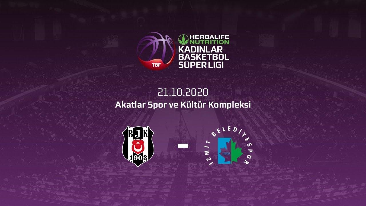 Beşiktaş HDI Sigorta – İzmit Belediyespor Herbalife Nutrition KBSL 5.Hafta