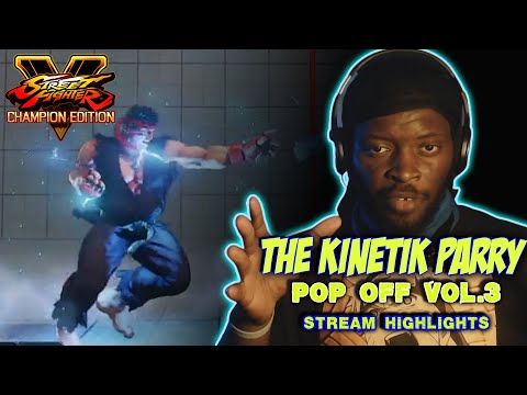 THE KINETIC PARRY: V-TRIGGER 2 RYU MIND GAMES, DOES STREET FIGHTER HAS BORING CHARACTERS |
