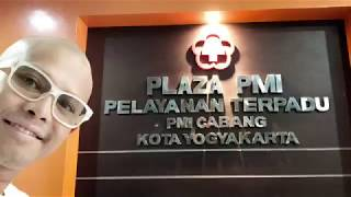 ( HEALTH ) BLOOD DONOR DARAH TRANSFUSION TRANSFUSI PMI RED CROSS KOTA YOGYAKARTA INDONESIA