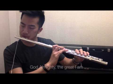Great I Am - New Life Worship - Beatbox Flute Cover