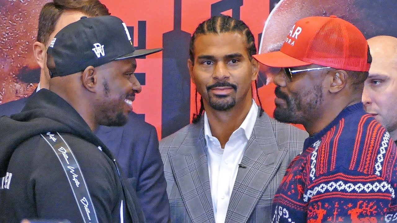 717ff3b4 Dillian Whyte vs. Dereck Chisora 2 FACE OFF at Final Press Conference