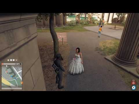 WatchDogs 2  How to Fuck a Bride in the Public