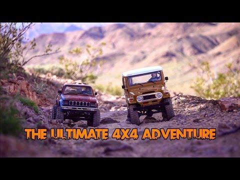 TRAIL FINDER 2 VS. GELANDE II-THE ULTIMATE 4X4 ADVENTURE- FERNDOGG310