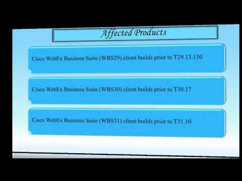 Cisco Webex Network Recording Player  Vulnerability