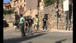 Performance contra el correbou de Fornalutx en TV Mallorca