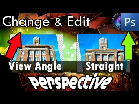 Photoshop Tutorial - How To Change Image Perspective In Photoshop (Easy)