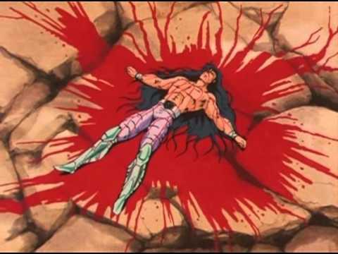 Resultado de imagen de shiryu saint seiya sangre