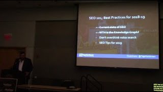 Arsen Rabinovich: SEO 101 for 2018 - 2019