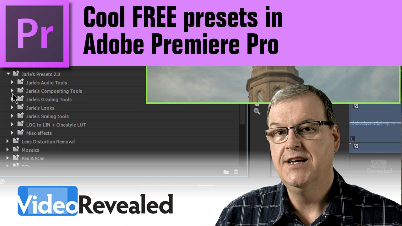 Cool FREE presets in Adobe Premiere Pro