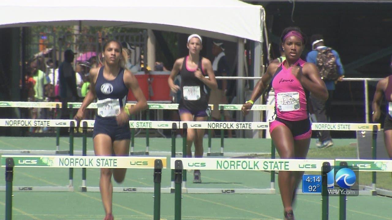 Anita Blanton on Junior Olympics in Norfolk - YouTube