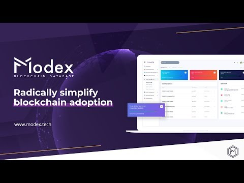 Modex - The Blockchain Database Company