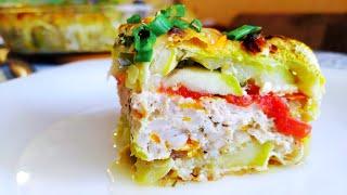 Запеканка из кабачков с фаршем и сыром Уммм Вкусный летний рецепт кабачков