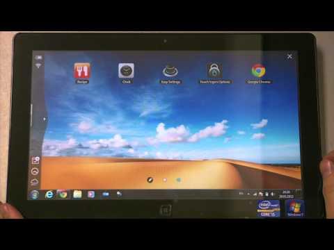 Видео обзор планшета Samsung Series 7 Slate