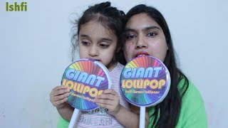 Giant Lollipop unboxing by Rufi
