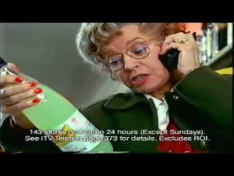 Prunella Scales Tesco advert 1999!