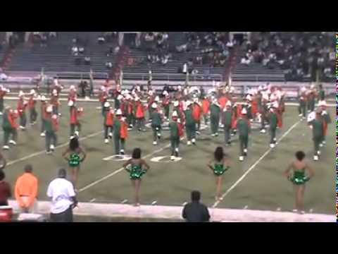 Leflore High School Marching Band at Vigor Game.10/22/2010