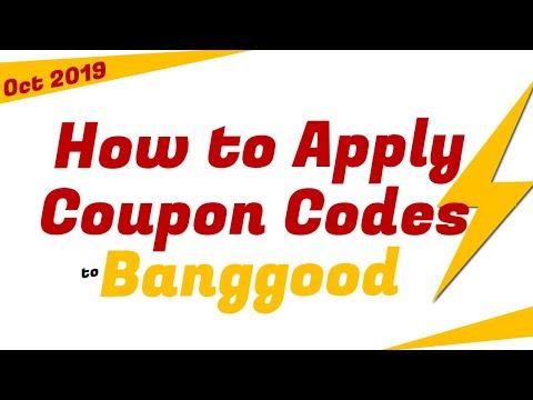How To Apply Coupon Codes To Banggood - Oct 2019