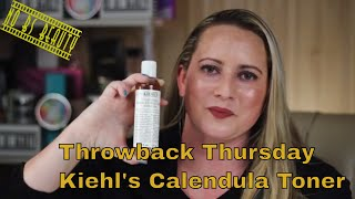 Throwback Thursday Kiehl's Calendula Herbal Alcohol Free Toner Review