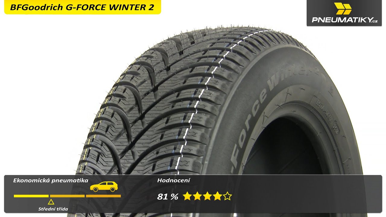 bfgoodrich g force winter 2 youtube