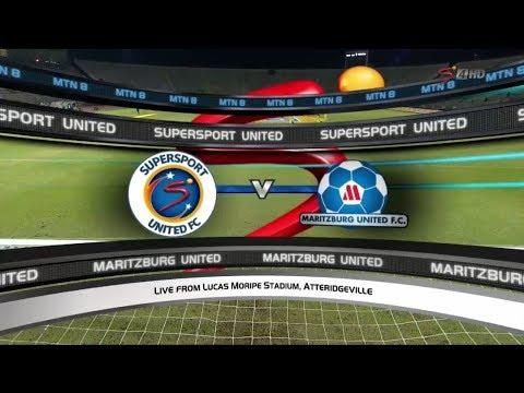 2017 MTN8 Semi-final 1st leg: SuperSport United vs Maritzburg United