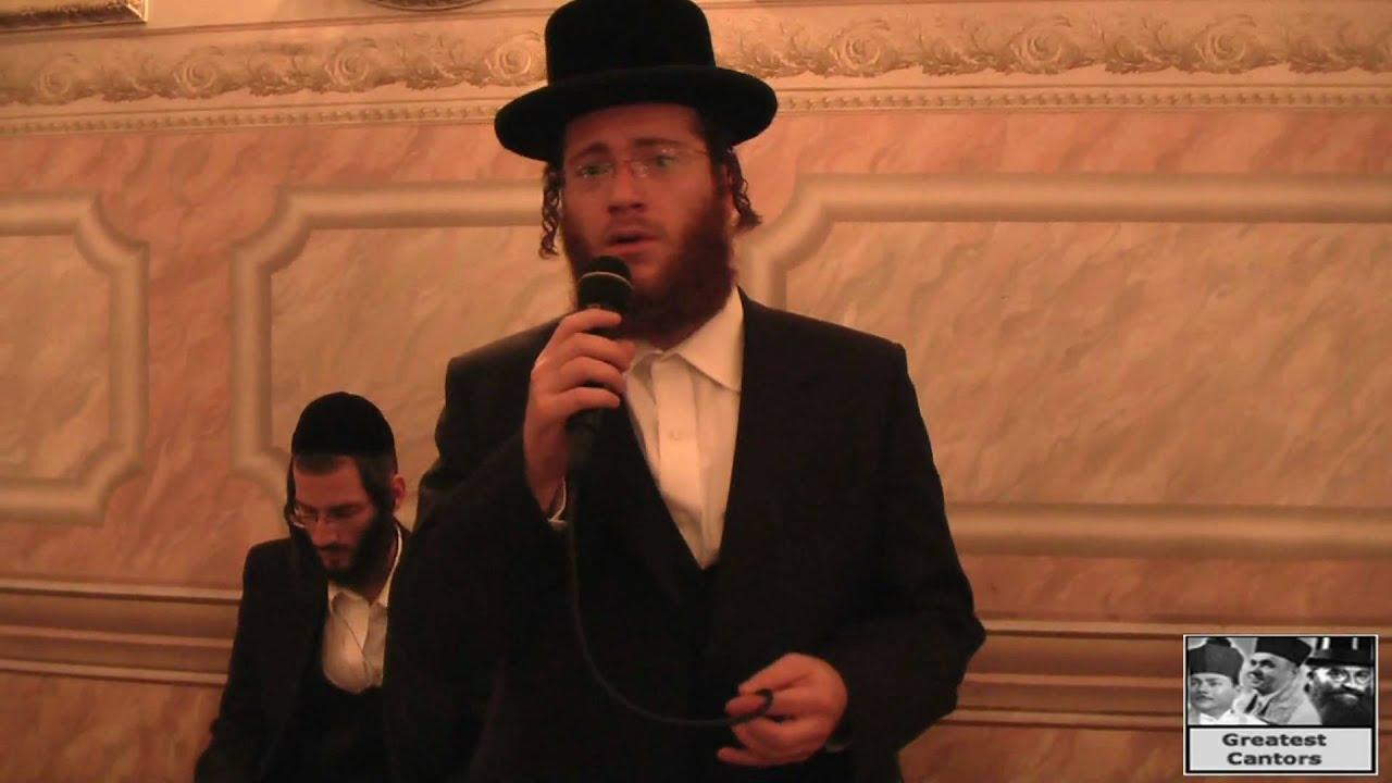 Cantor Yanky Lemmer sings nostalgic Yiddish Folk songs