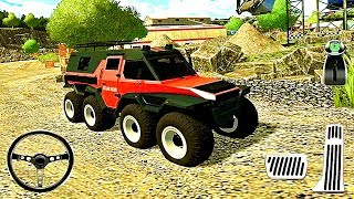 Construction truck game Quarry Driver 3: Giant Trucks- Android Gameplay HD #3