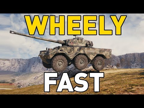 World Of Tanks || Wheely Fast!