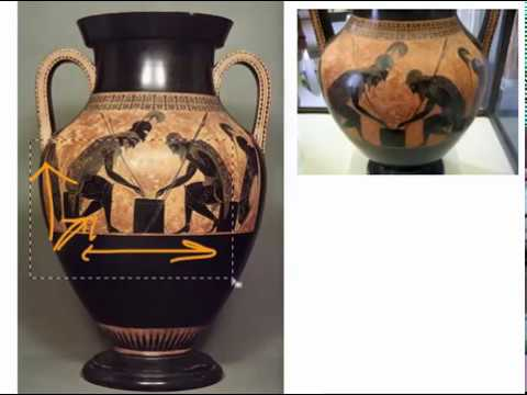 Elements And Principles In Exekias Amphora Youtube