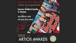2018 CSA Artios Awards Interview - Best Children's Pilot and Series (Live Action)
