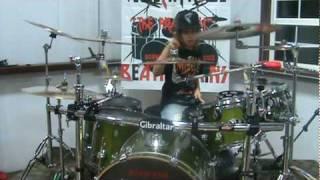 Gambar cover Linkin Park---In Pieces-----Drum Cover---Austin Rios