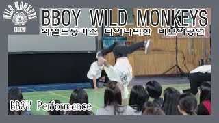 비보이전문 공연팀 와일드몽키즈(WILD MONKEYS)…