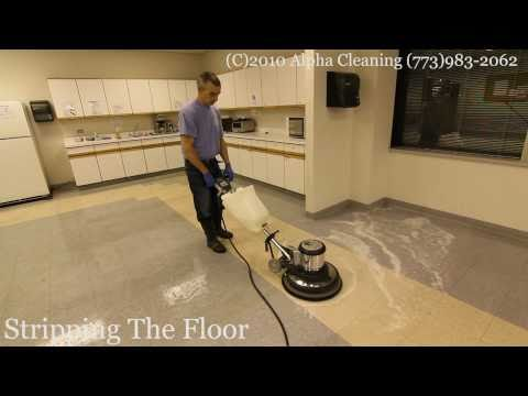 Floor cleaning, stripping, buffing and waxing Bartlett IL