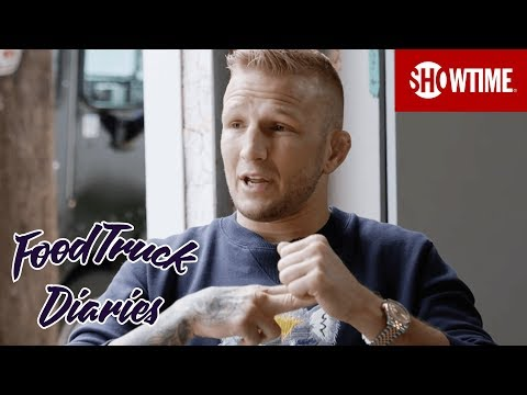 TJ Dillashaw | Food Truck Diaries | BELOW THE BELT with Brendan Schaub