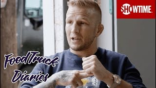 TJ Dillashaw | Food Truck Diaries | BELOW THE BELT with Brendan Schaub