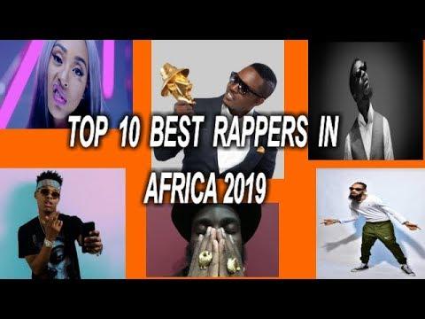 TOP 10 BEST RAPPERS IN AFRICA
