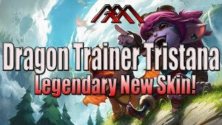 Dragon Trainer Tristana - New Legendary Skin Gameplay - League of Legends