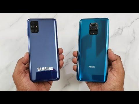 Samsung M51 vs Redmi Note 9 Pro Speedtest & Camera Comparison