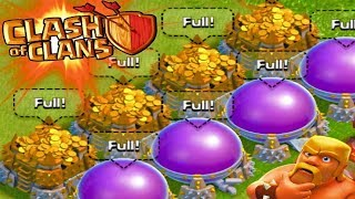Save Your Loot Town Hall 9 Base Farming Clash Of Clans 2018