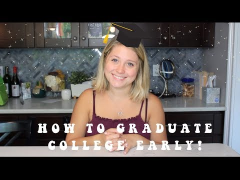 How To Graduate College A Year Early | EMERSON | SIMPLYGAB
