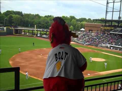 Mascot Highlights Winston-Salem Dash Bolt