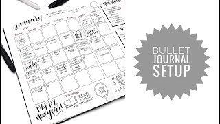 2018 bullet journal flip through and plan with me!