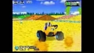 Chibi-Robo: Park Patrol Nintendo DS Gameplay - In the car