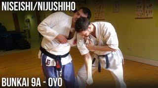 Niseishi/Nijushiho Bunkai - 9a Oyo (Empi-uchi, gedan barai)