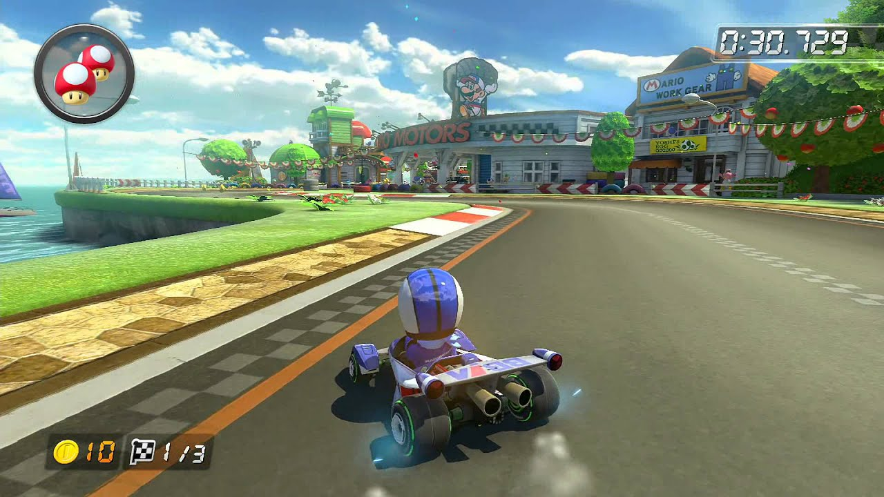 gcn yoshi circuit 1 jamie mario kart 8 world record youtube. Black Bedroom Furniture Sets. Home Design Ideas